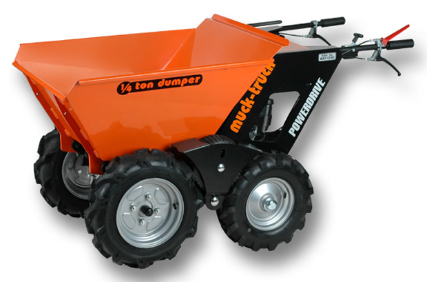 Muck Truck Motorized Wheelbarrows