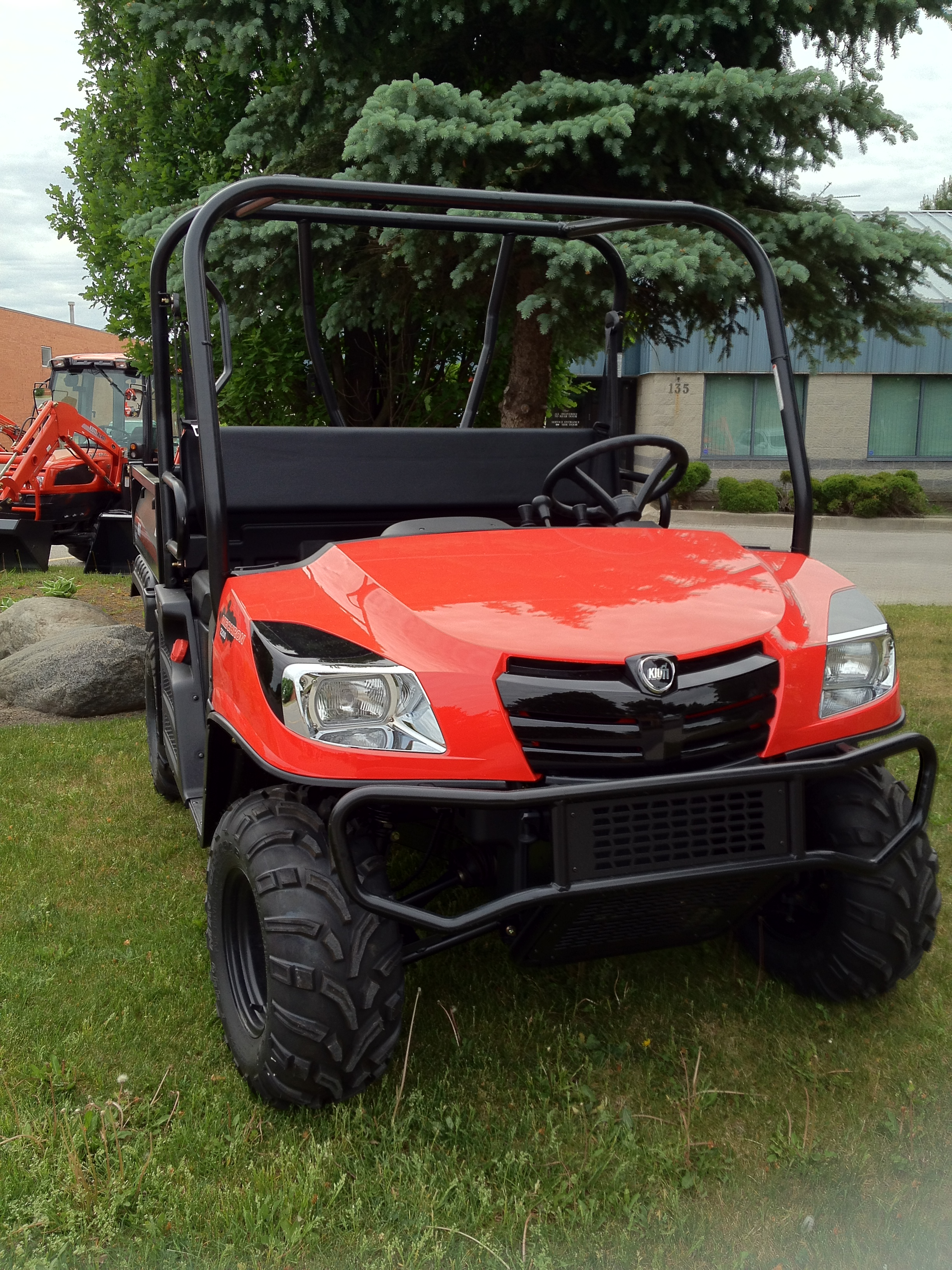 Kioti Mechron UTV DEMO 22HP Diesel 4wd w/ Diff Lock 2 Range CVT Transmission Full Factory Warranty remains