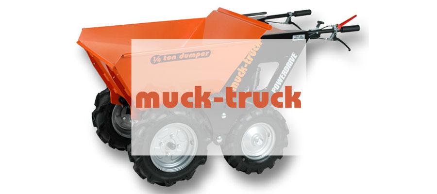 muck truck power wheelbarrow