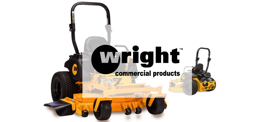 wright lawn mower