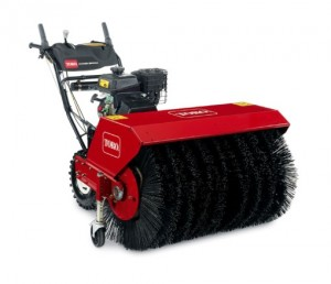 Toro Rotary Power Broom pickering Mowers