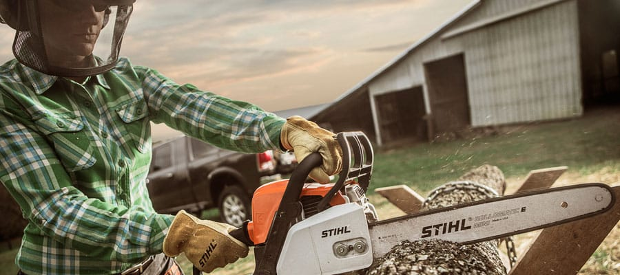 We're a proud Pickering dealer of Stihl chainsaws.