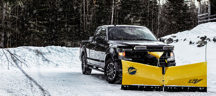 Fisher snow plows available at Pickering Mower Power Equipment Service and Parts