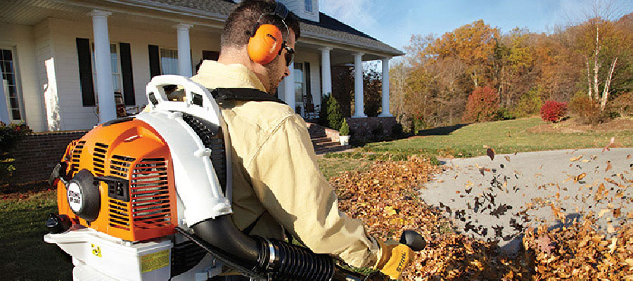 Stihl leaf blower found at Pickering Mower Power Equipment Service and Parts